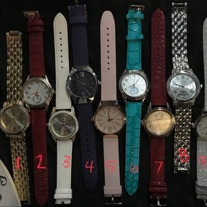 Accessories - Assortment of beautiful watches